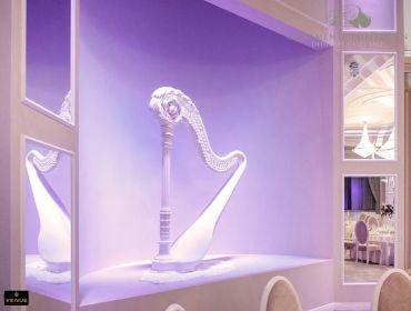Harpa decorativa