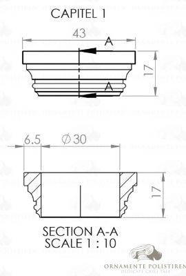 Capitel coloana interior 01